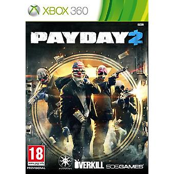 Payday 2 (Xbox 360)-fabriks forseglet