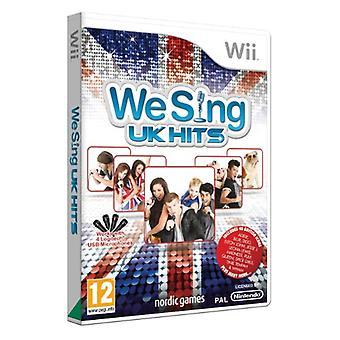 We Sing - UK Hits (Nintendo Wii) - Nouveau