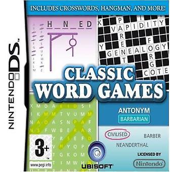 Klassiske ordspil (Nintendo DS)-fabriks forseglet