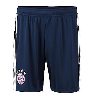 2018-2019 Bayern Monaco Adidas Home Shorts (Navy)