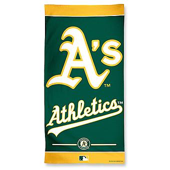 Wincraft MLB Oakland Athletics beach towel 150x75cm