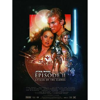 Star Wars Episode 2 Attack of the Clones Poster Poster Print