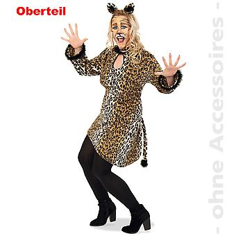 Leopard kvinners kostyme stor skjorte Leopard tunika kvinners drakt