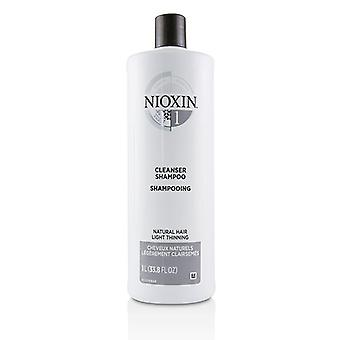 Nioxin Derma Purifying System 1 Cleanser Shampoo (natural Hair Light Thinning) - 1000ml/33.8oz