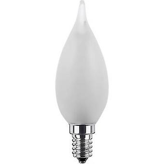 Segula LED (monochrome) EEC A+ (A++ - E) E14 Candle angular 2.7 W = 15 W Warm white (Ø x L) 35 mm x 110 mm dimmable, Filament 1 pc(s)