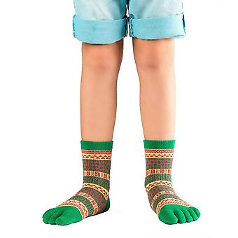 Knitido Ontario kids, funny toe socks made of cotton for children