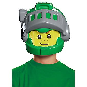 Aaron Lego Nexo Knights Child Fancy Dress Up Boys Costume Half Mask