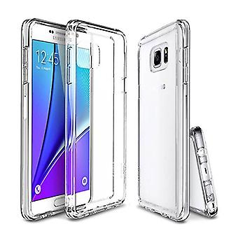 Stuff Certified ® 2-Pack Transparent Clear Silicone Case Cover TPU Case Samsung Galaxy Note 5