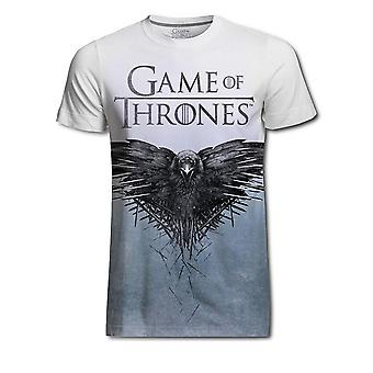 Game of Thrones T-Shirt Crow sublimation printing