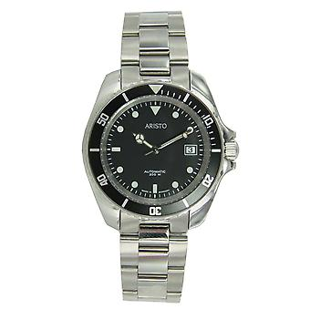 Aristo Unisex Watch wrist watch dive watch automatic stainless steel 4H108TU