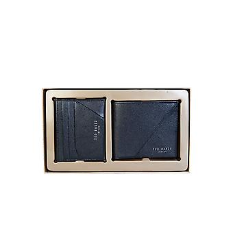 Ted Baker Wallet Bifold And Cardholder Giftset Dc8m/gg13/plaza