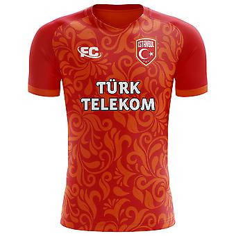 2018-2019 Galatasaray Fans cultuur Home Concept Shirt