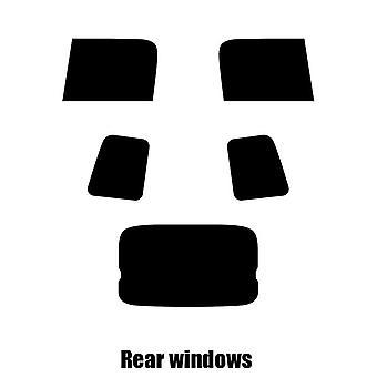 Pre cut window tint - Toyota Yaris Verso - 1999 to 2007 - Rear windows
