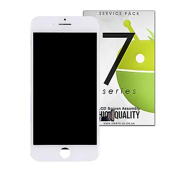 White LCD and Digitzer Assembly For iPhone 7