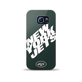 Mizco Sports NFL Oversized Snapback TPU Case for Samsung Galaxy S6 Edge (New York Jets)