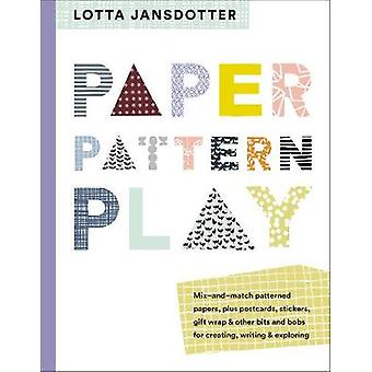 Lotta Jansdotter papier - patroon - toneelstuk van Lotta Jansdotter papier - P