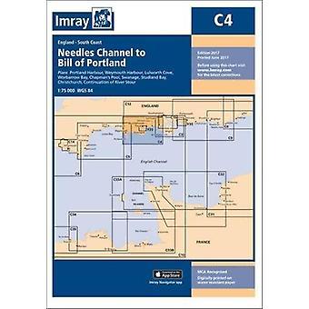 Imray Chart C4 - Needles Channel to Bill of Portland by Imray - 978184