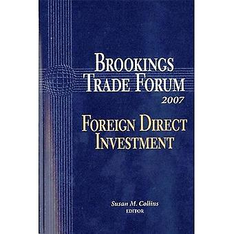 Brookings Trade Forum: Investimenti diretti esteri (Brookings Trade Forum)