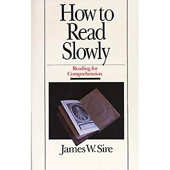 How to Read Slowly: Reading for Comprehension (Wheaton Literary)