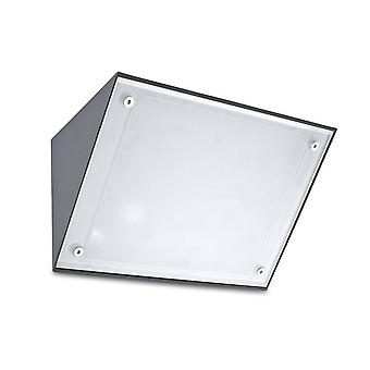 Curie E27 vägg armatur Urban grå - lysdioder-C4 05-9884-Z5-G5