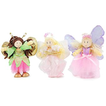 Le Toy Van Traditional Toys Truth Fairies Triple Pack