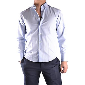 John Richmond Ezbc082083 Men's Light Blue Cotton Shirt
