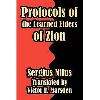 Protocols of the Learned Elders of Zion by Nilus & Sergiei