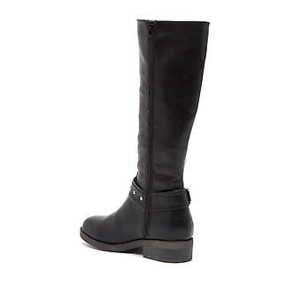 Madden Girl Womens McKenzie Round Toe Knee High Riding Boots