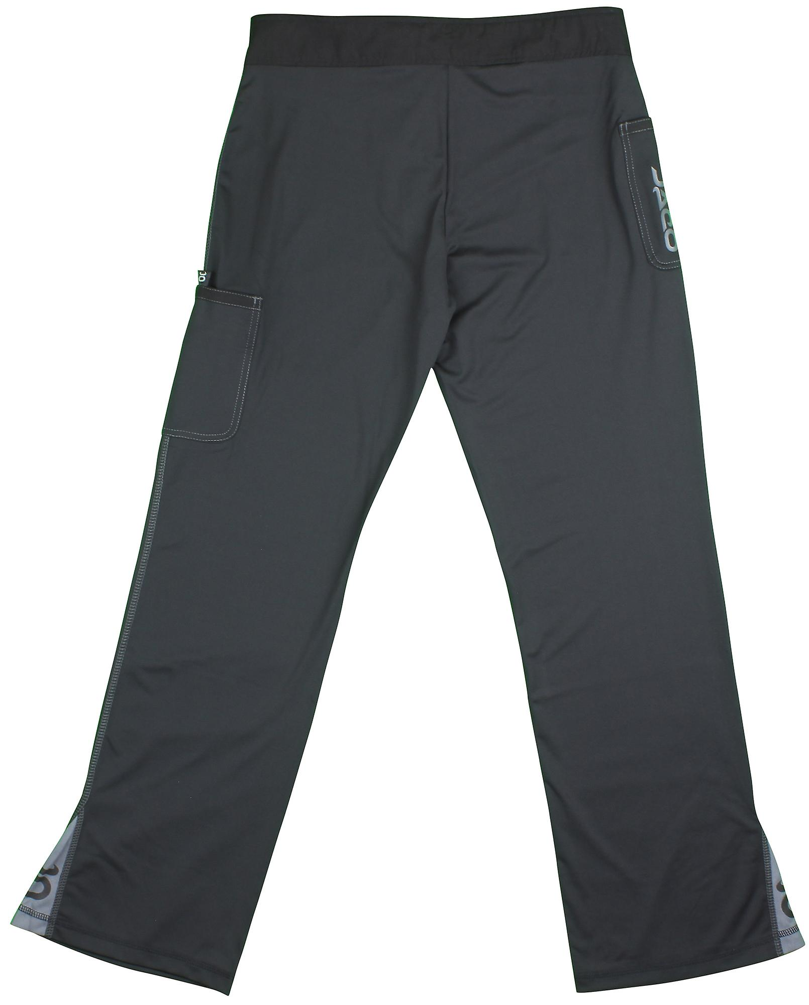 Jaco Mens Hybrid Training Pants - Black
