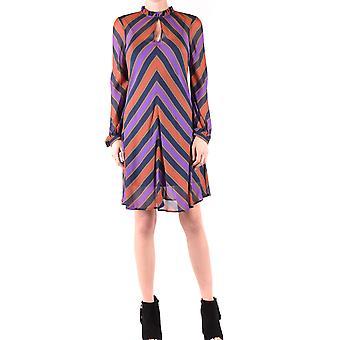 Twin-set Ezbc060186 Women's Multicolor Viscose Dress