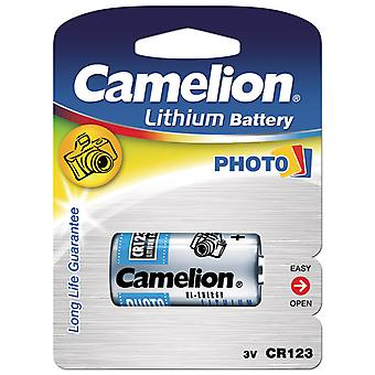 Battery CR123A, CR123,123, Camelion 3V Lithium