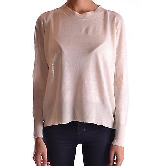 Semi-couture Ezbc156001 Women's White Cotton Sweater