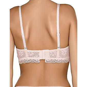 Nipplex VAL-KRE-BIU Women's Valerie Pink Lace Padded Underwired Support Coverage Full Cup Bra
