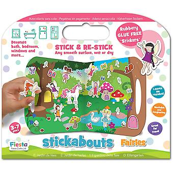Fiesta Crafts Stickabouts Fairies