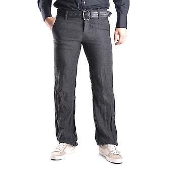 Gazzarrini Ezbc204004 Men's Grey Cotton Jeans