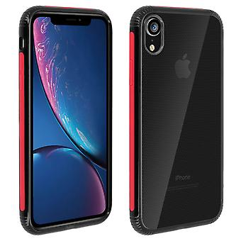 Apple iPhone XR Case Dual material protection, Licorice Collection Red