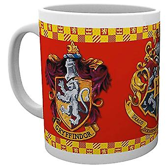 Harry Potter Gryffindor Crest Mug and Coaster Set