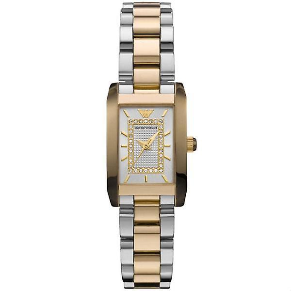 Emporio Armani Ar3171 - Ladies Classic Two Tone Bracelet Watch