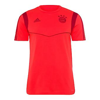 2019-2020 Bayern Munich Adidas Training Tee (Red) - Kids