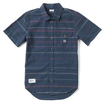 Lrg Somali Short Sleeve Woven Shirt Nautical Blue