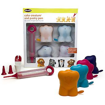 Chef'n 3D Cake Creature Baking Set with Pastry Pen