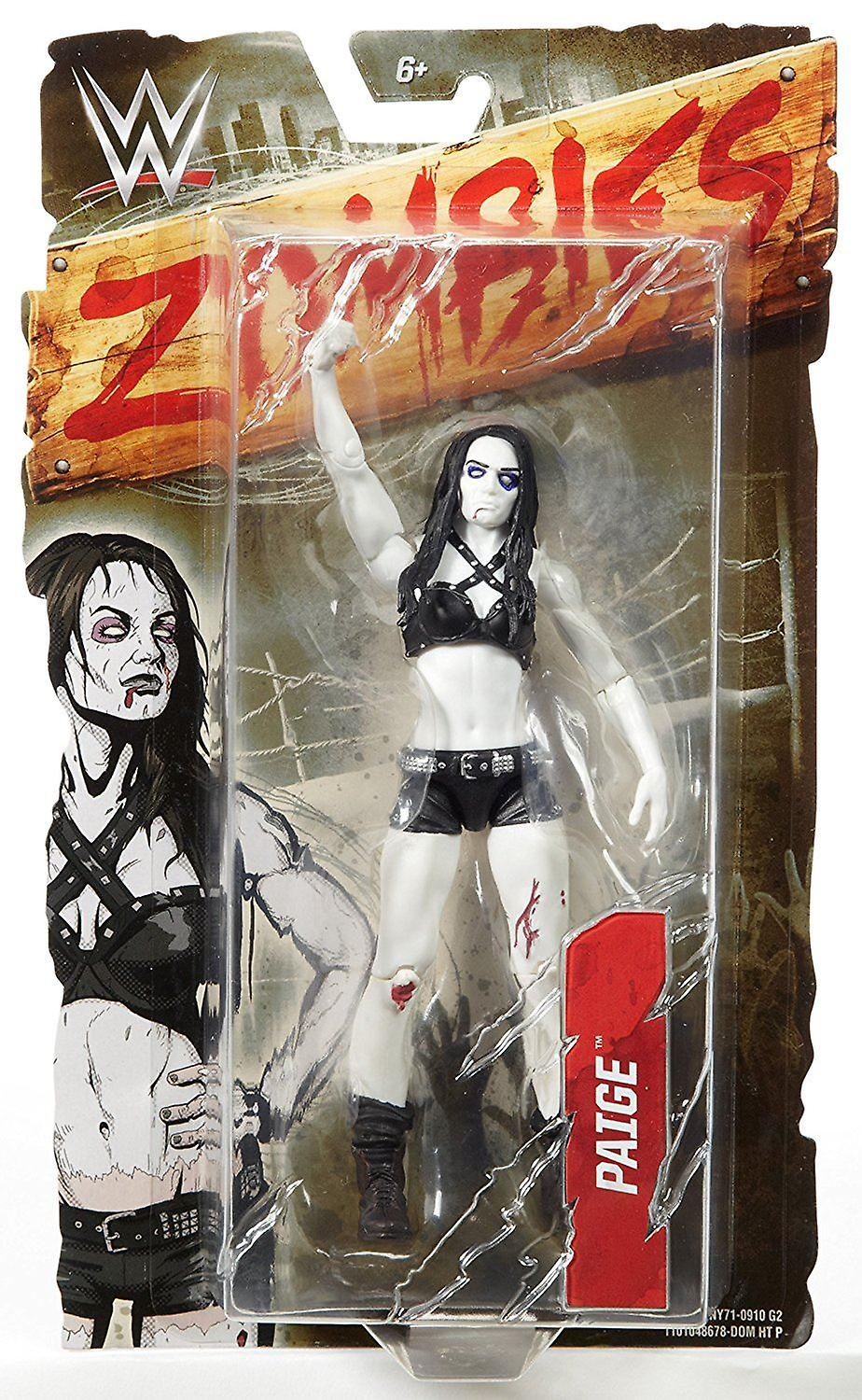 Wwe Zombies Action Figure Paige
