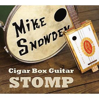 Mike Snowden - Cigar Box Guitar Stomp [CD] USA import