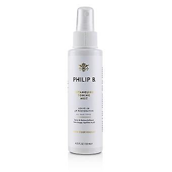 Philip B Detangling Toning Mist (Leave-In pH Restorative - All Hair Types) 125ml/4.23oz