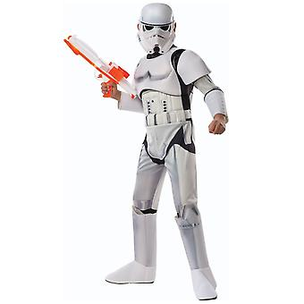 Stormtrooper Deluxe Star Wars Classic Disney Movie Book Week Child Boys Costume
