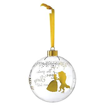 Disney Enchanting Collection Beauty and the Beast Wedding Bauble