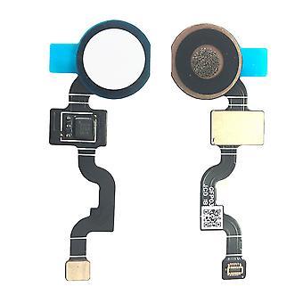 עבור גוגל פיקסל 3A XL אצבע טביעת אצבע חיישן לבן Flex Flex כפתור הבית כבל