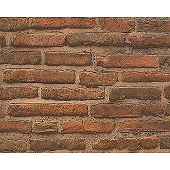 A.S. Creation AS Creation House Brick Pattern Wallpaper Faux Effect Realistic Stone Embossed 307471