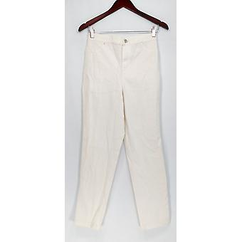Joan Rivers Classics Collection Jeans Joan's Classic Ankle White A303079
