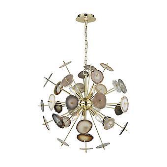 Galileo 6-light chandelier